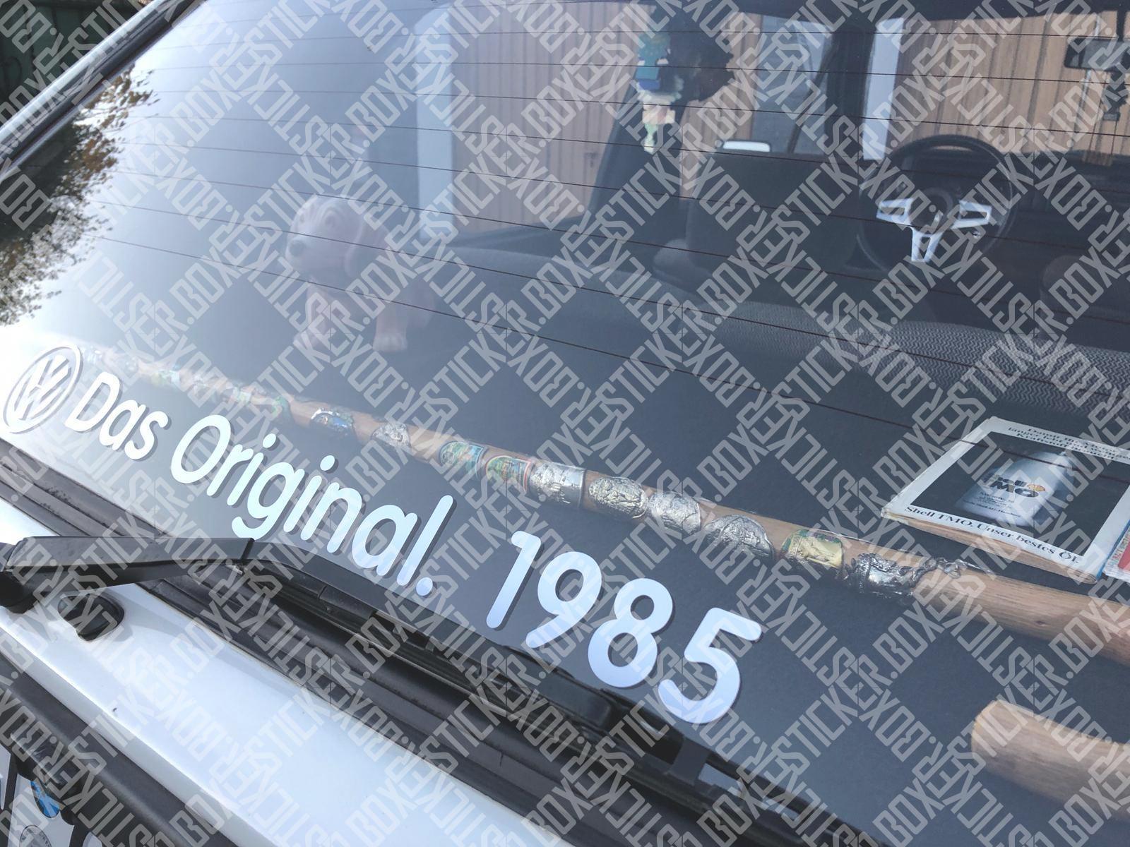 Volkswagen Das Original Heckscheibenaufkleber