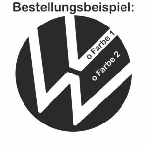 VW T-ROC ACC Emblem Aufkleber *NEW* Logo